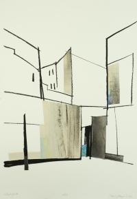 ursula-hinterhof-IIIsiebdruckcollage-76-x-54-cm