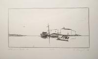 ursula strozynski, Häuser und Boote I